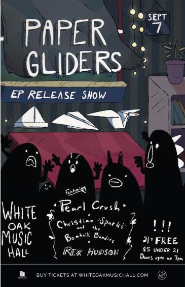 Paper Gliders, Pearl Crush: Main Image