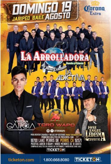 LA ARROLLADORA, ADICTIVA, VIRLAN GARCIA, COYOTE: Main Image