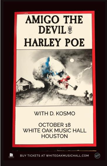 Amigo the Devil and Harley Poe, D. Kosmo: Main Image