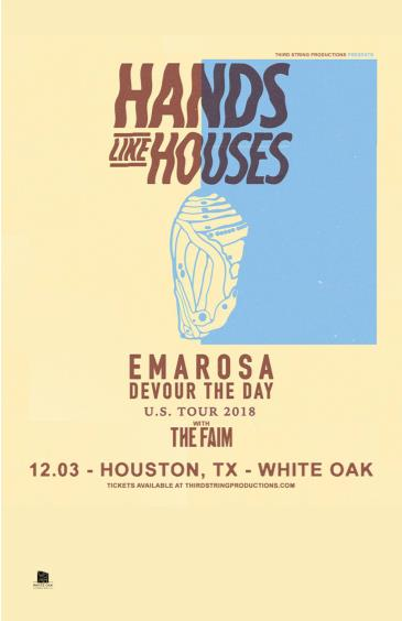 Hands Like Houses, Emarosa, Devour the Day, The Faim: Main Image
