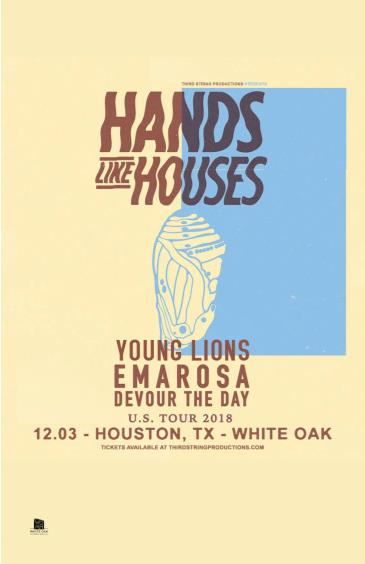 Hands Like Houses, Emarosa, Devour the Day, Young Lions: Main Image