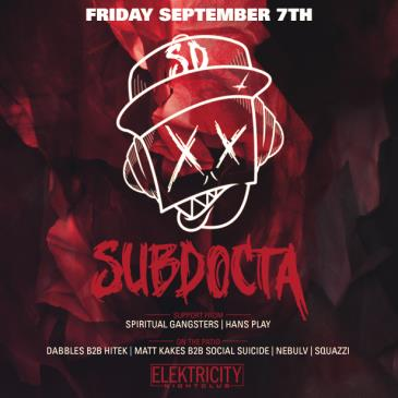 SUBDOCTA (Limited Free w/ RSVP Before 11PM)-img