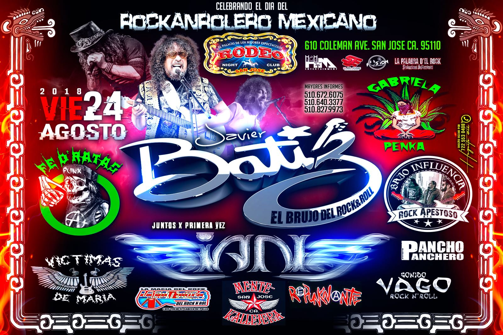 Javier Batiz San Jose Tickets Boletos Rodeo Night Club