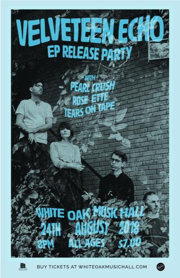 Velveteen Echo, Pearl Crush, Rose Ette, Tears On Tape: Main Image