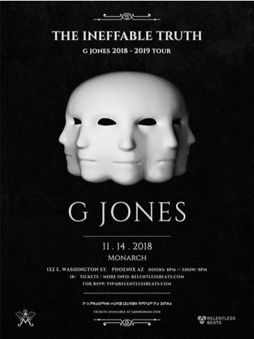 G Jones: Main Image