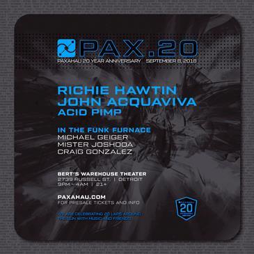 Pax.20: Paxahau 20-Year Anniversary: Main Image