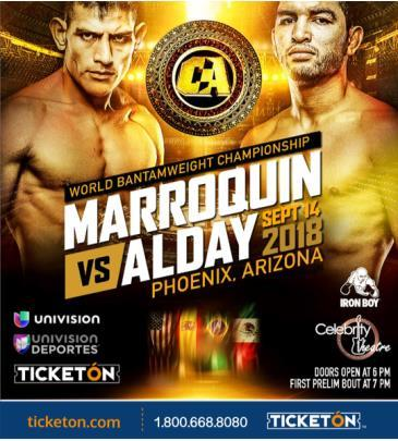 COMBATE AMERICAS: MARROQUIN VS. ALDAY: Main Image