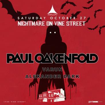 Nightmare on Vine Street: Paul Oakenfold: Main Image