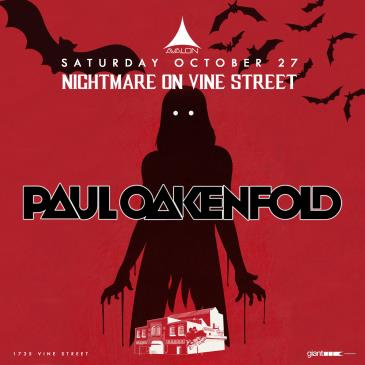 Nightmare on Vine Street: Paul Oakenfold: Main Image