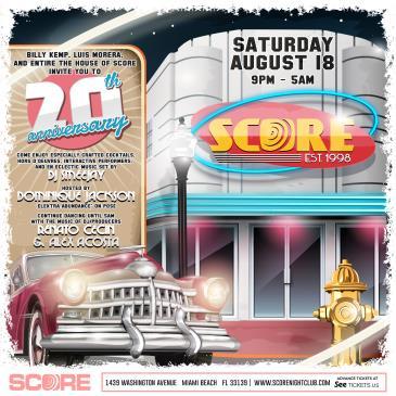 SCORE's 20th Anniversary party: Main Image