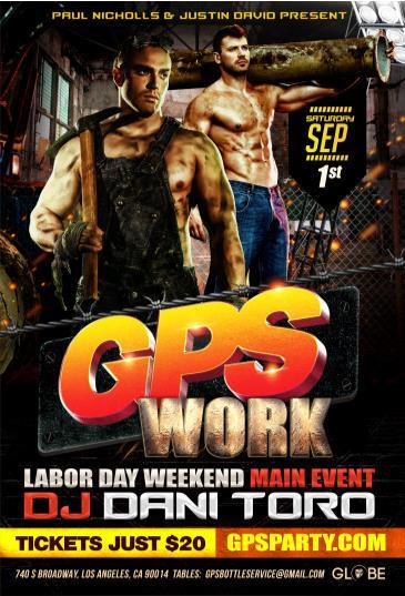 GPS: WORK: Main Image