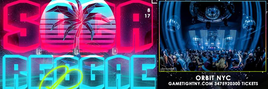Soca vs. Reggae Glowsticks Rave party Friday Aug 17th Orbit NYC tickets | GametightNY.com