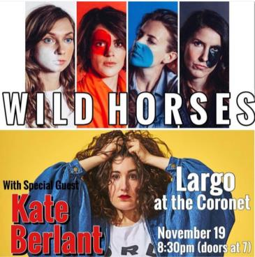 Wild Horses w/ special guest Kate Berlant: Main Image