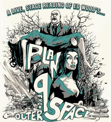 Dana Gould - A reading of Ed Wood's Plan 9 from Outer Space: Main Image
