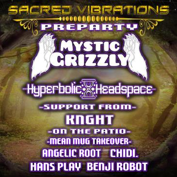 MYSTIC GRIZZLY & HYPERBOLIC HEADSPACE: Main Image