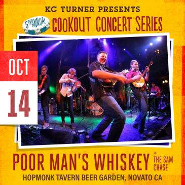 Poor Man's Whiskey + The Sam Chase (Cookout Concert Series): Main Image