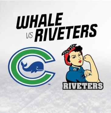 Whale at Riveters: Main Image