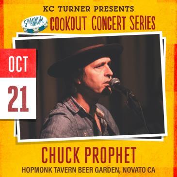 Chuck Prophet + Matt Jaffe (Cookout Concert Series): Main Image