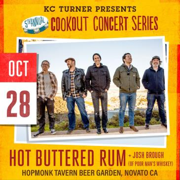 Hot Buttered Rum + Josh Brough (Cookout Concert Series): Main Image