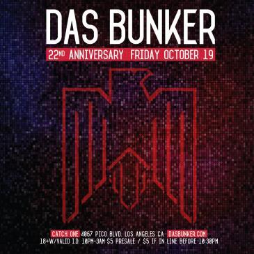 Das Bunker 22nd Anniversary: Main Image