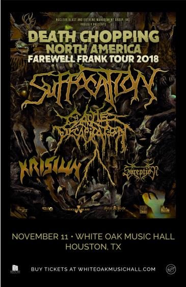 Suffocation, Cattle Decapitation: Main Image