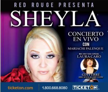 SHEYLA CONCIERTO EN VIVO: Main Image