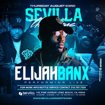 Elijah Banx w/ Big Boy Music Performing Live @ Sevilla LBC-img