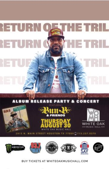 Bun B & Friends Album Release Party & Concert: Main Image