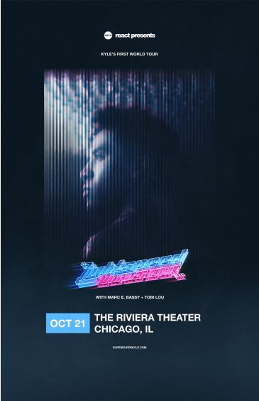Kyle - The Lightspeed World Tour: Main Image