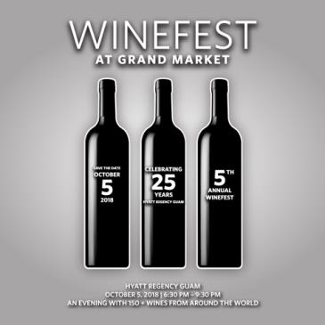 WINE FEST AT THE GRAND MARKET 2018: Main Image