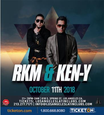 RKM & KEN-Y (LIVE) (Tickets Will Be Available At The Door): Main Image