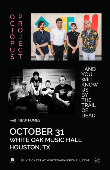 Octopus Project + Trail of Dead, New Fumes: Main Image