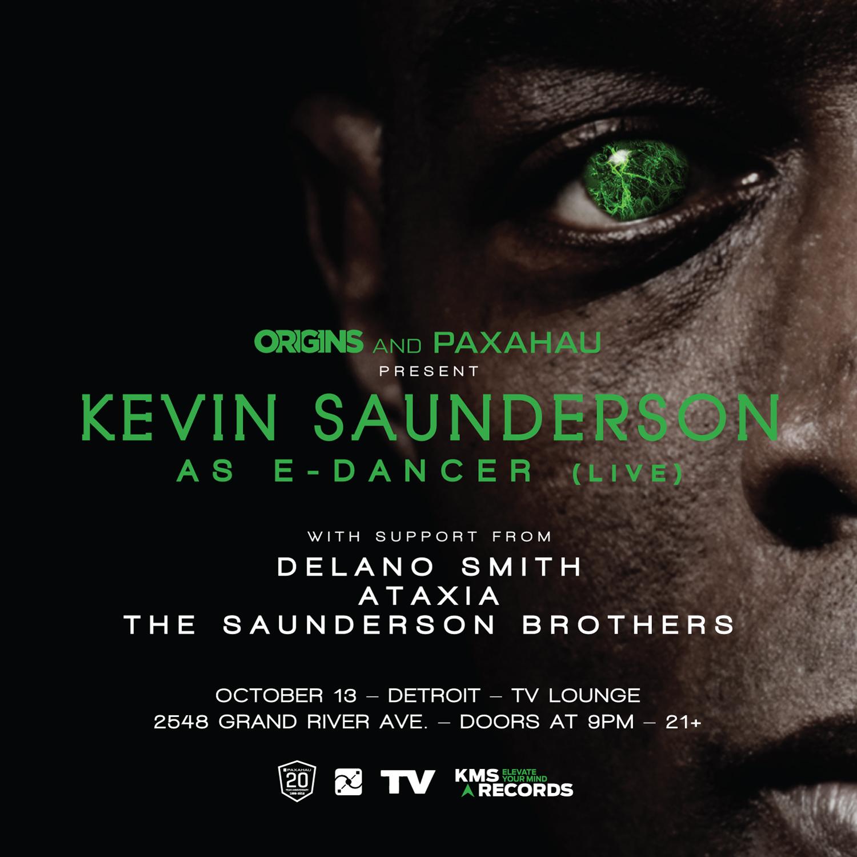 Paxahau Presents: Kevin Saunderson as E-Dancer (Live) Tickets 10