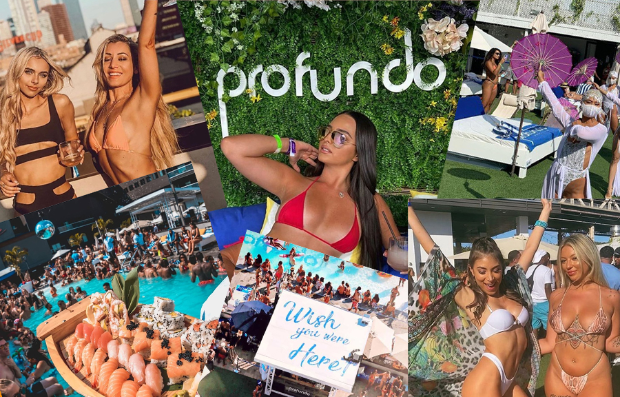 Ravel Hotel Profundo Day Club Pool 2021 | GametightNY.com