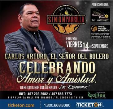 Cancelado/c ARLOS ARTURO DESDE COLOMBIA: Main Image