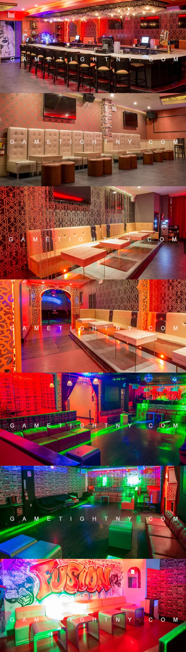 Birthday Package at Fusion Lounge NY | GametightNY.com