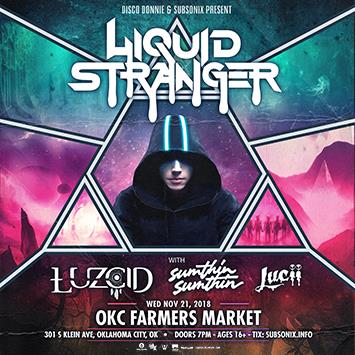 Liquid Stranger - OKLAHOMA CITY: Main Image
