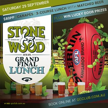 Stone & Wood Grand Final Lunch: