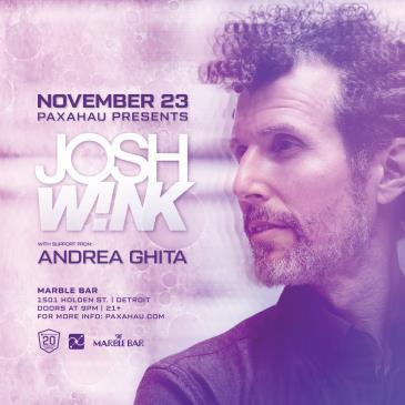 Paxahau Presents: Josh Wink: Main Image