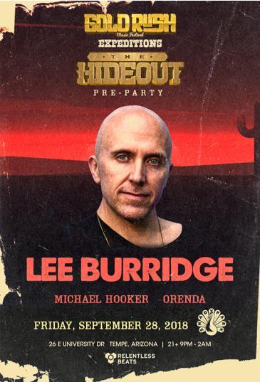 Lee Burridge: Main Image
