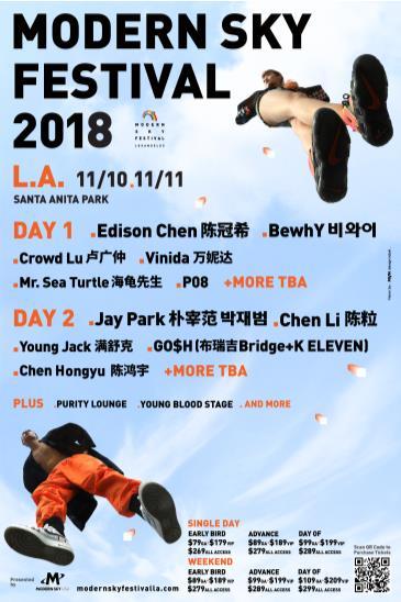 Modern Sky Festival L.A. 2018: Main Image