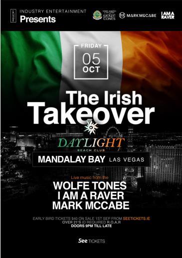 The Irish Takeover at DAYLIGHT Beach Club: Main Image