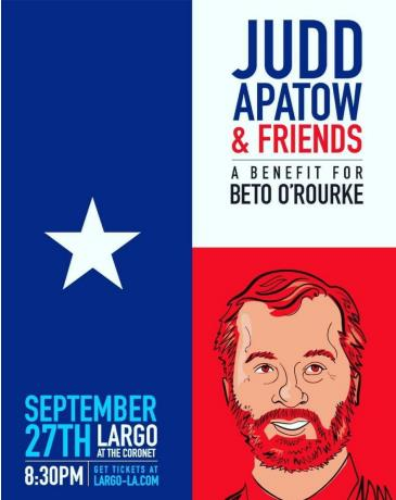 Judd Apatow & Friends - A Benefit for Beto O'Rourke: Main Image