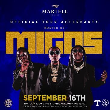 Martell Presents: Official Tour After Party Hosted by Migos: Main Image