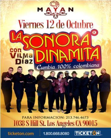 LA SONORA DINAMITA EN LOS ANGELES: Main Image