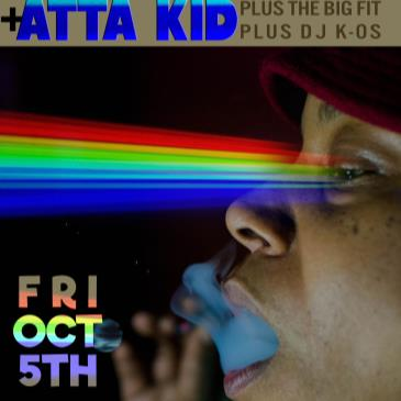 Eddie Roberts Joins Atta Kid + The Big Fit + DJ K-OS HISB-img