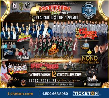 ZACATECANO FEST 2018: Main Image
