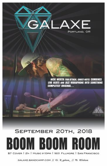 GALAXE (of Ghost Note, Yak Attack): Main Image