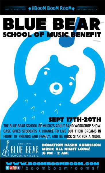 Blue Bear School Of Music Benefit: Main Image