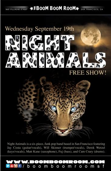 NIGHT ANIMALS (freee show): Main Image